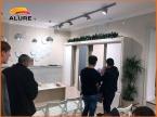 Мастер-класс по нанесению декоративной штукатурки для стен ALURE в Тамбове в салоне Престиж-Декор