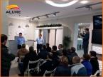 Мастер-класс по нанесению декоративной краски для стен ALURE в Тамбове в салоне Престиж-Декор